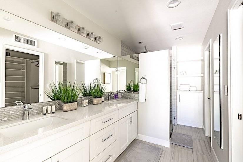 Master Bathroom, Dual Vanity, Walk-in Shower, Closet