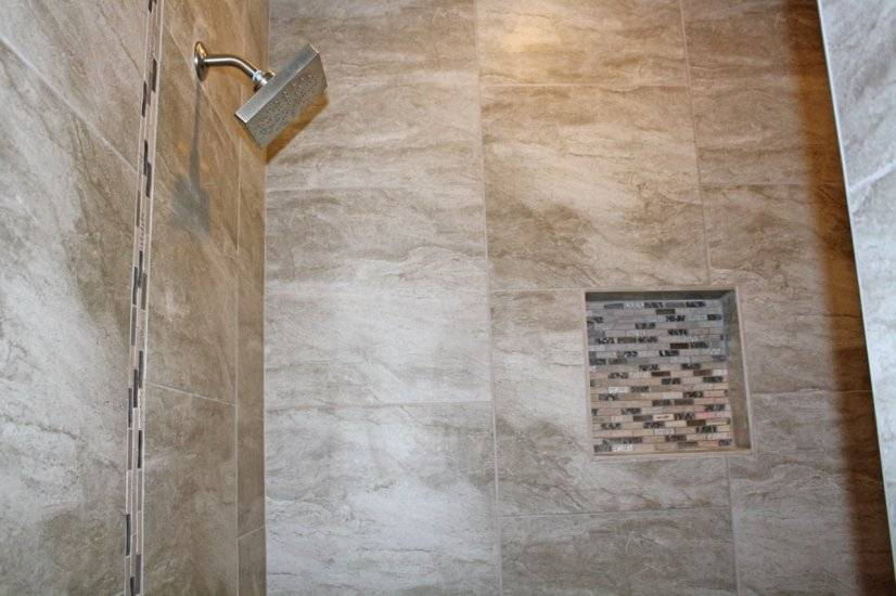 Designer fixtures, spa shower