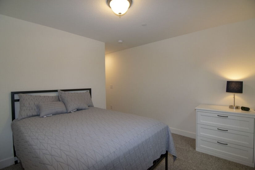 Fourth Bedroom - Basement with a Full Size Be