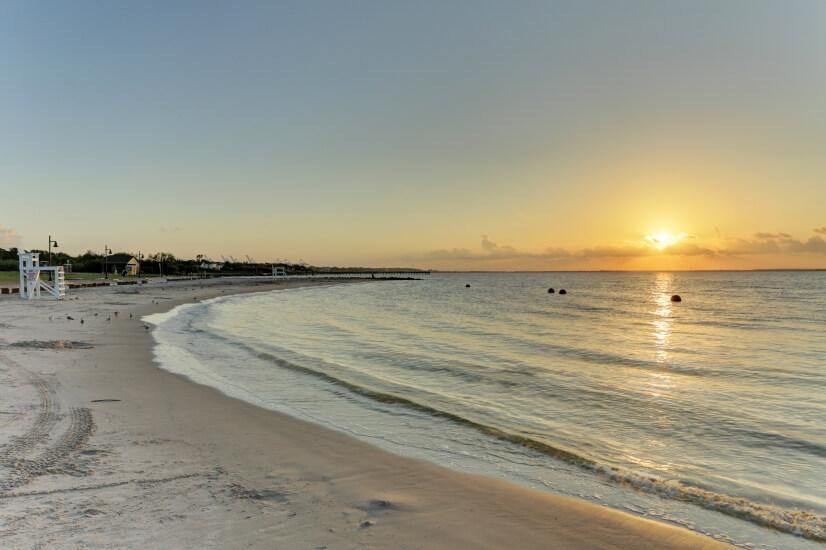 Beautiful sunrises at Sylvan Beach.
