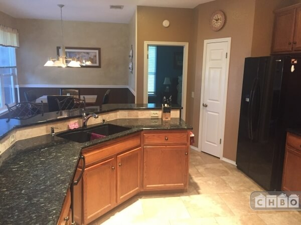 updated and upgraded Kitchen - granite