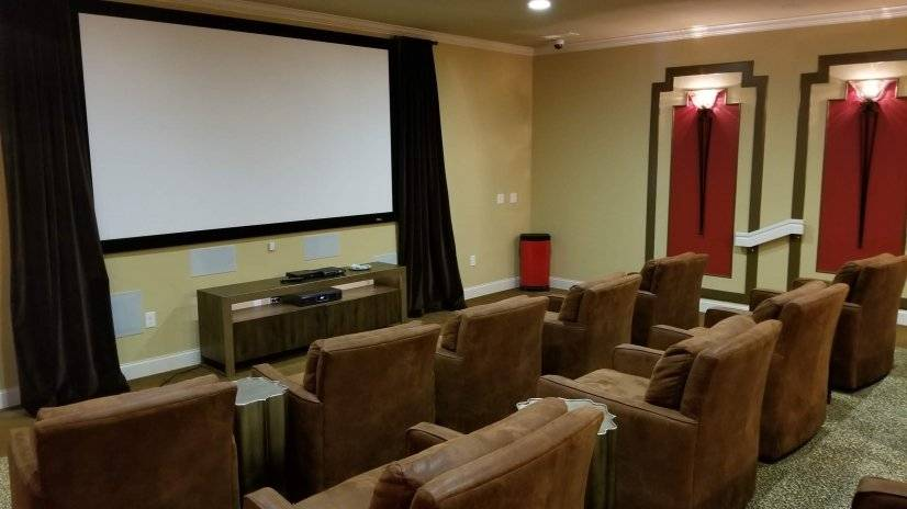 Watch movies on the big screen!