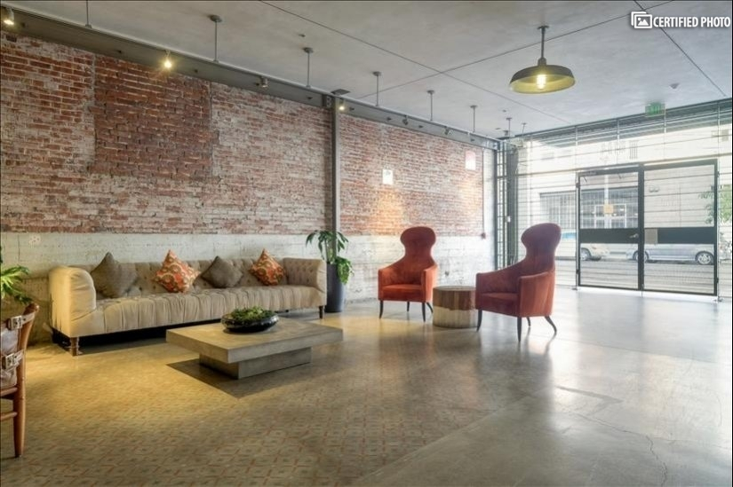 Breezeway communal space