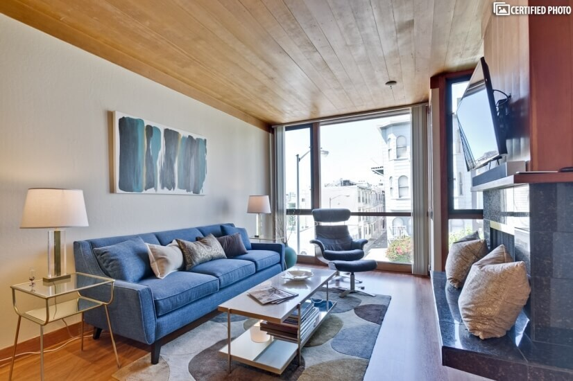 image 4 furnished 2 bedroom Townhouse for rent in North Beach, San Francisco