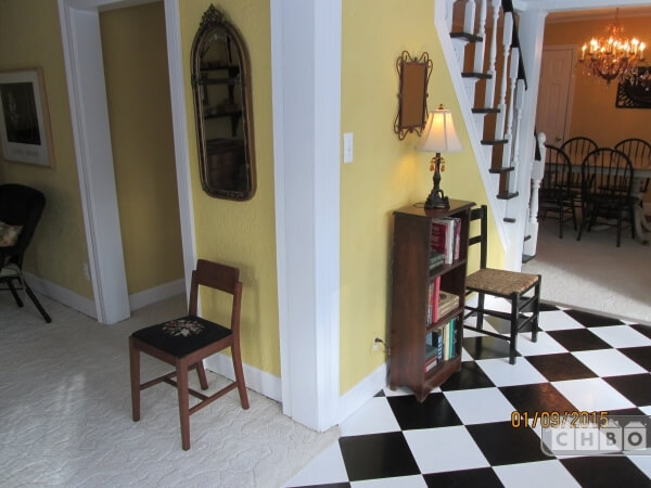 Sun Room to Dining Room