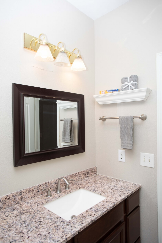 Wonderful bathroom, fully stocked