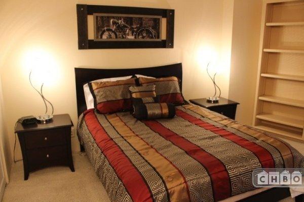 Den with Queen Murphy Bed