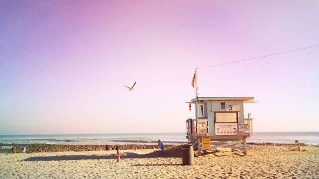 Head to Santa Monica for the day to soak up some rays.