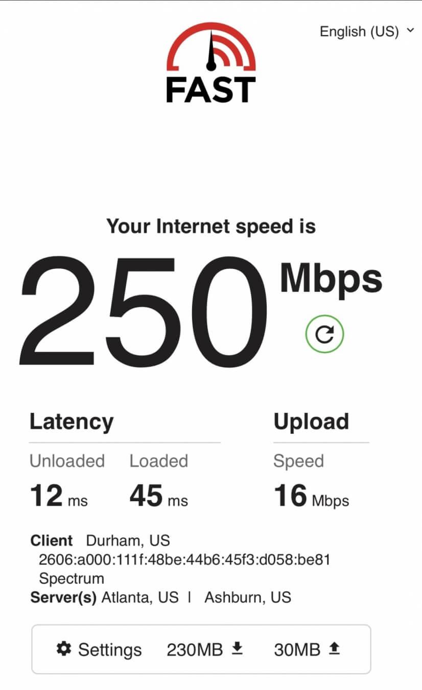 Fast Internet!