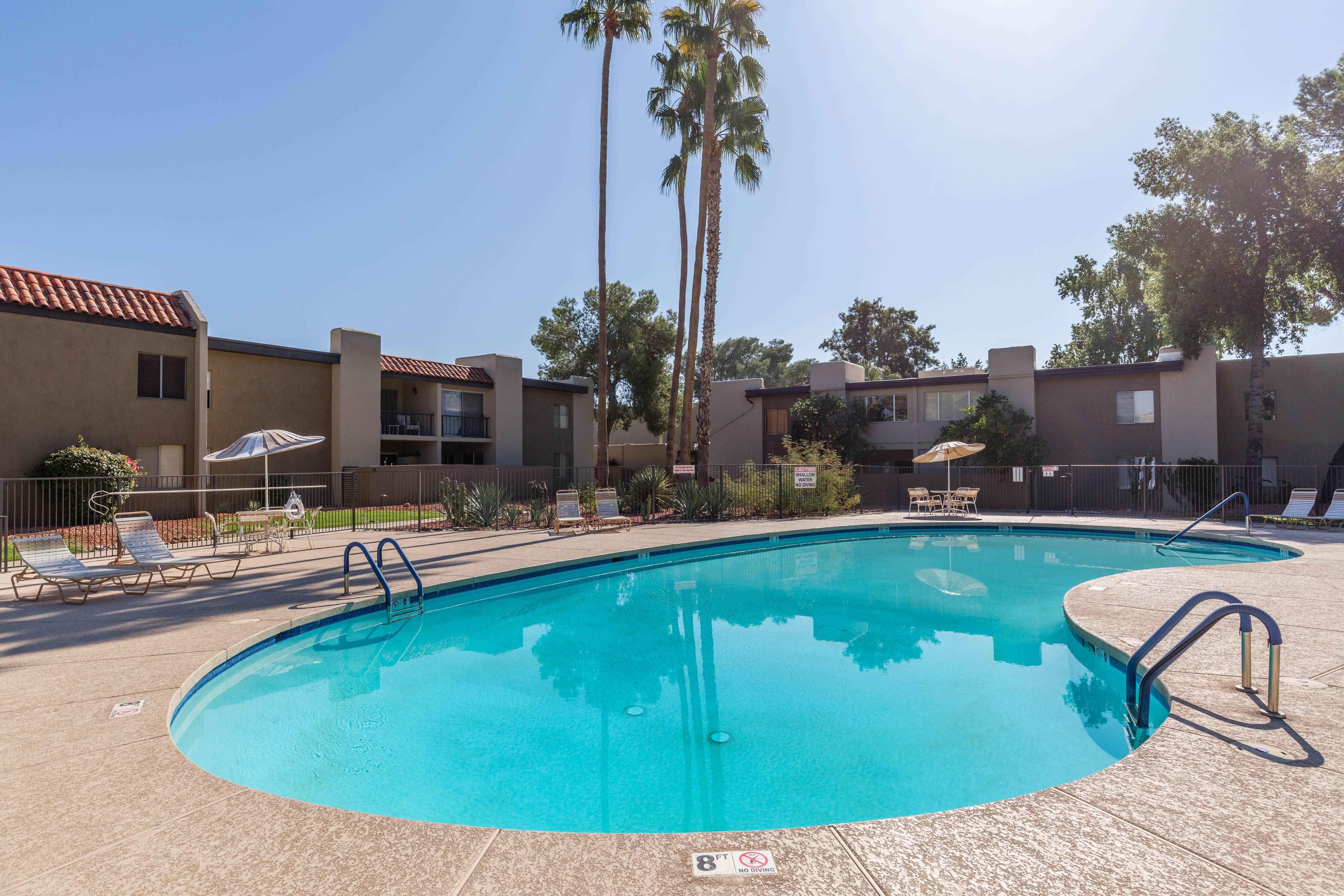 Shared Pool, Spa and BBQ Area