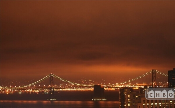Views of the newly renovated Bay Bridge!