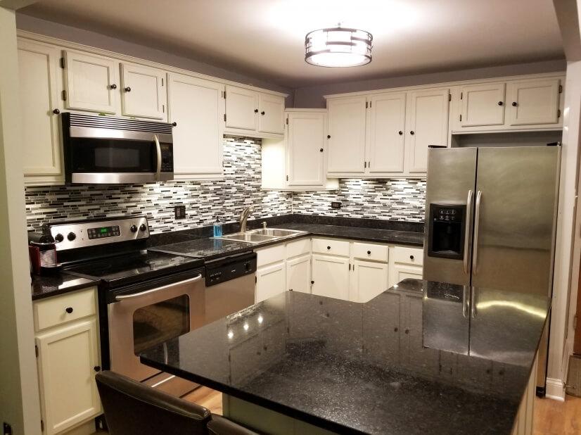 Amazing modern open kitchen concept