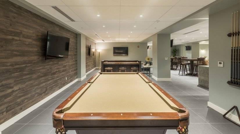 Pool Table in Truman Lounge