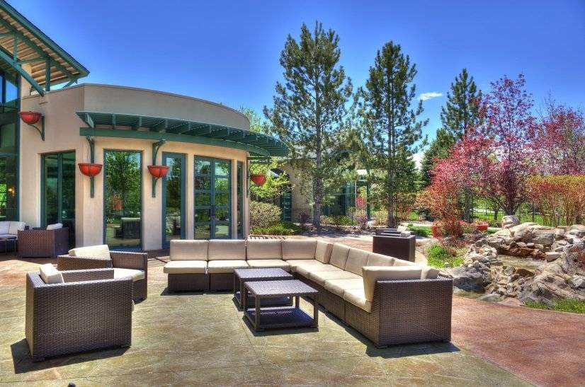 Inviting Outdoor Gathering Areas