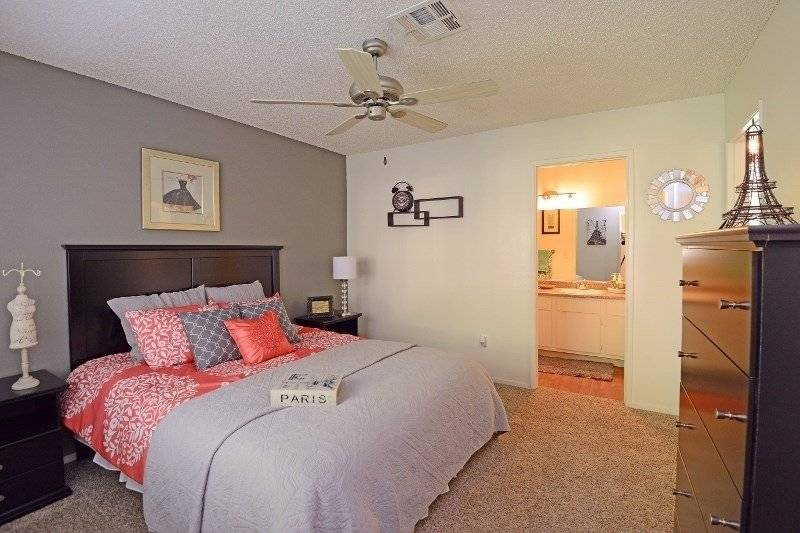 Master Bedroom w/ Adjoining Private Bath (photo from website