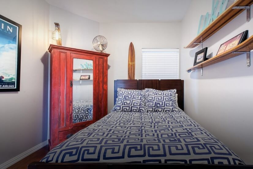 Lake Austin Themed Guest Room