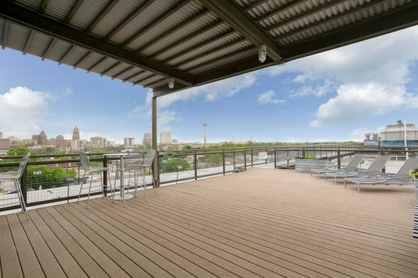 Rooftop access with 360 panoramic views of the city