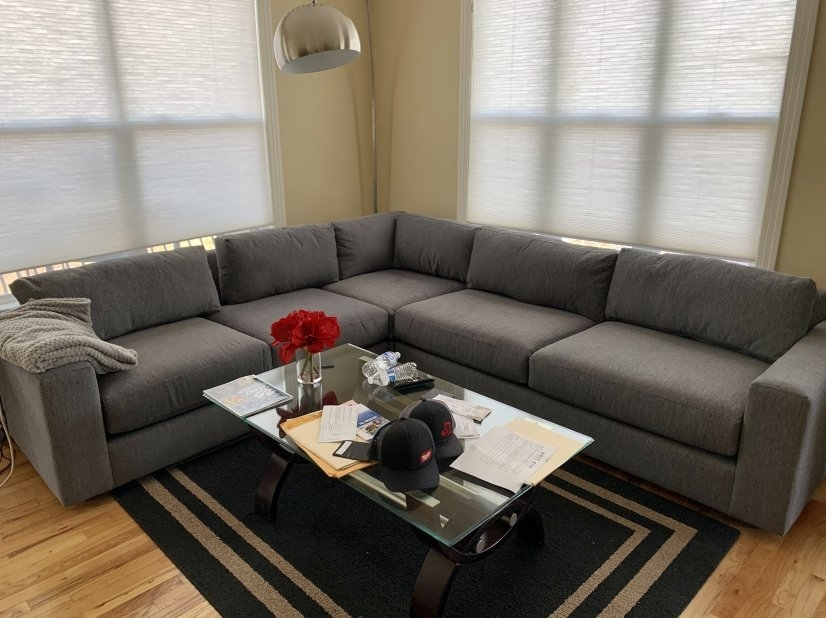 Brand New Sectional Sofa Delivered May 2020.