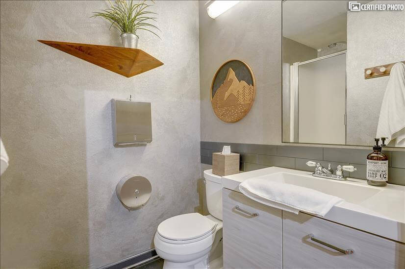 2nd Bathroom with the expected design and utility