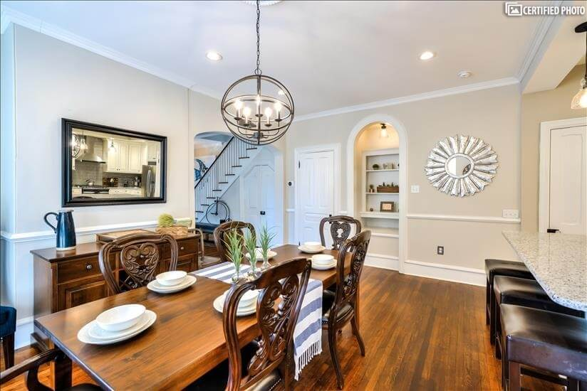 Dining Area Toward Living Room
