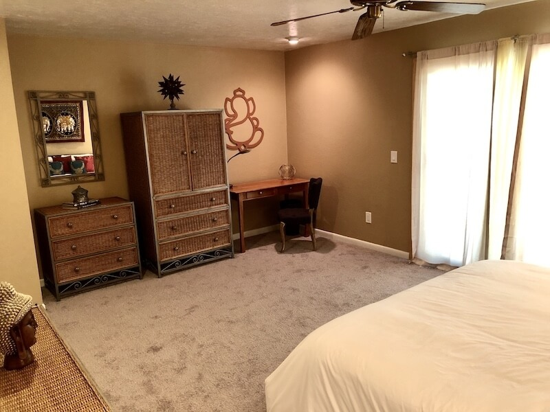 Master Bedroom Drawers and Office Desk