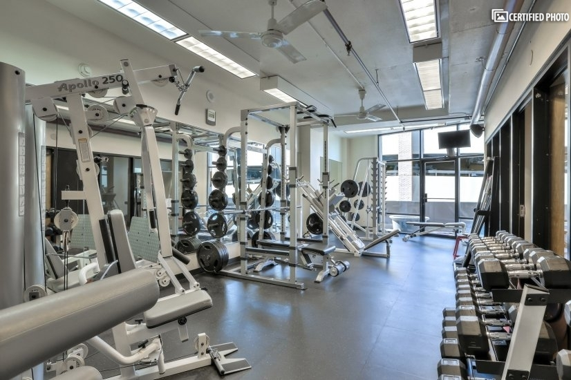 Weight Room Section