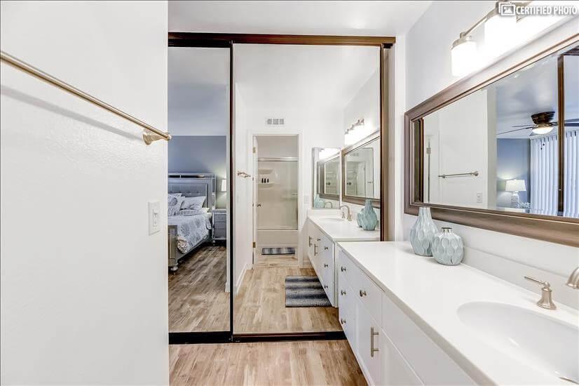 Large Mirrored Closet Doors