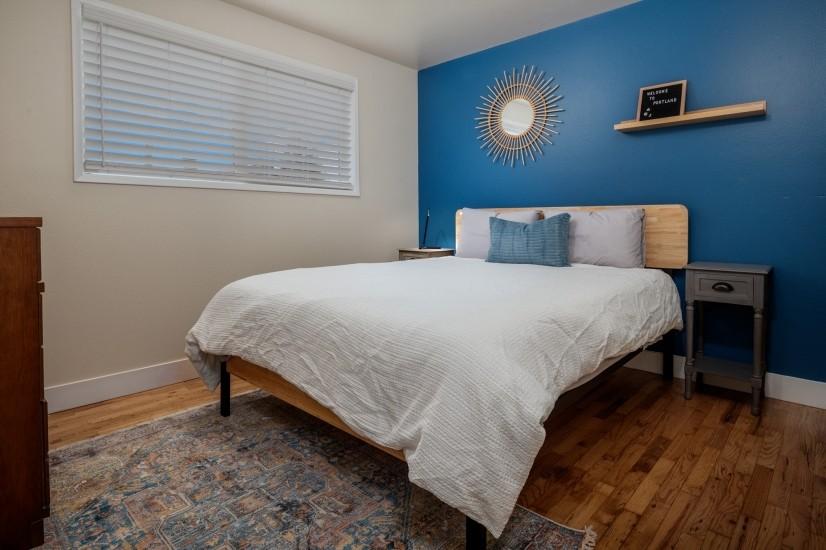 Bedroom #2, Queen Bed, View from Door