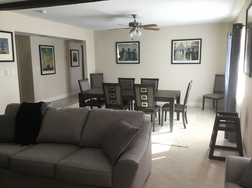 Dining Room as seen from living room area