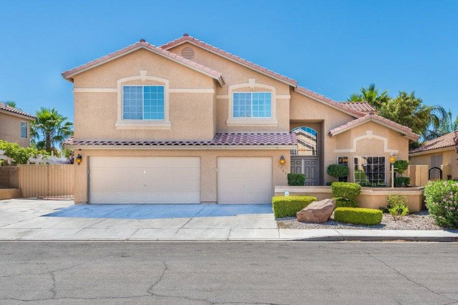 House on a quiet Las Vegas Street only miles from the strip