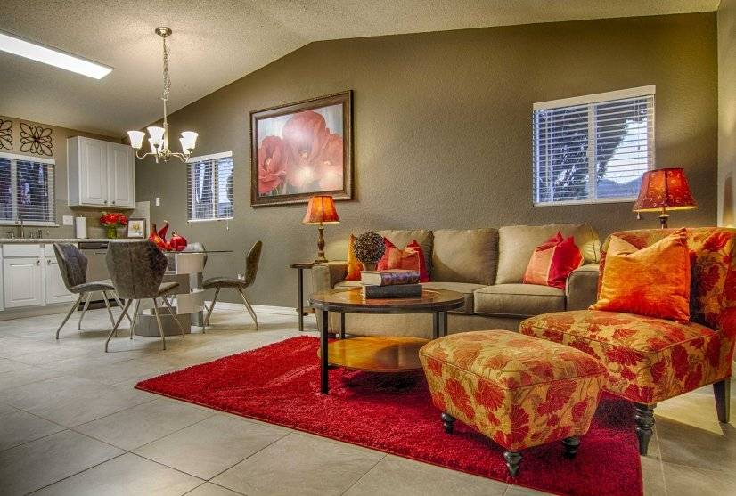 Warm and inviting colors