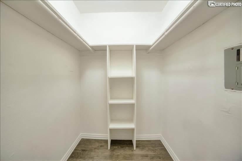 Massive Closet Space