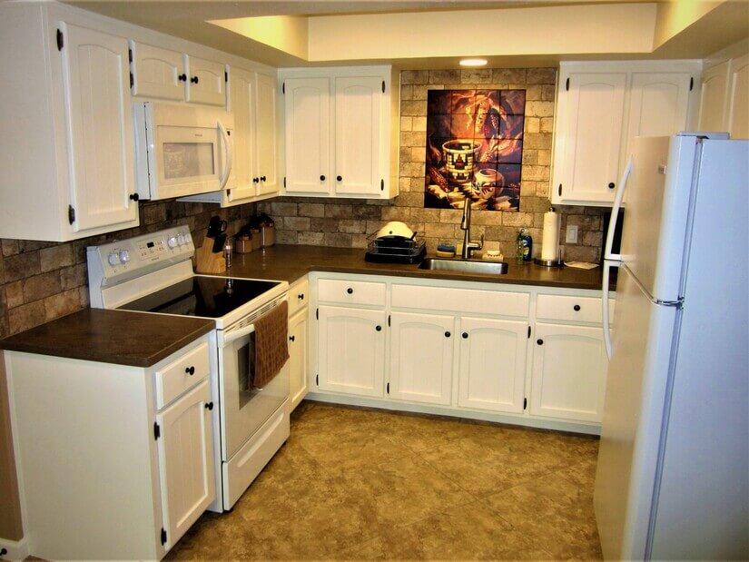 Efficient work space in Kitchen