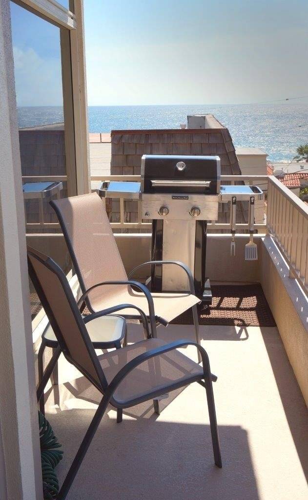 Front Balcony With BBQ And Ocean View