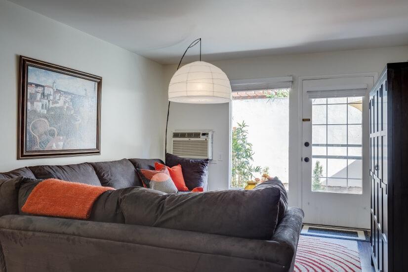 Living Room-view to backyard