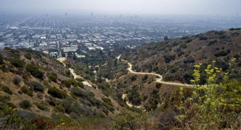 For a fantastic LA view take a hike up Runyon Canyon.