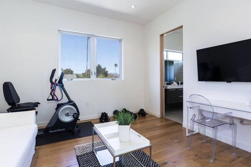 Upstairs Bedroom 3 Plus Mini Gym and Desk 2