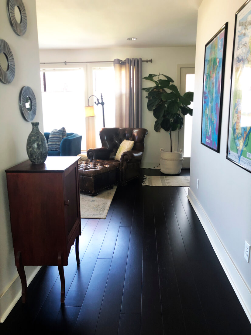 Entering Living Second Floor Living Room