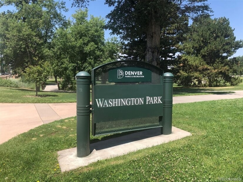 The beautiful Washington Park