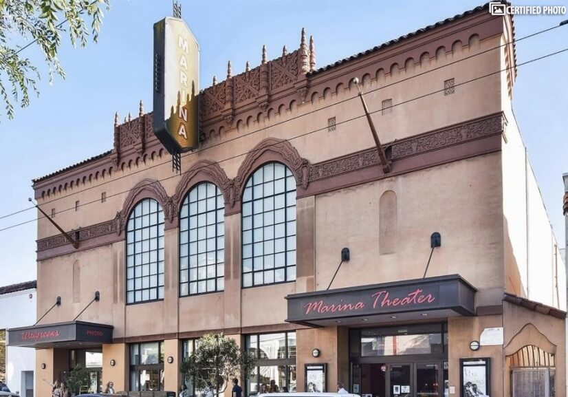 On Chestnut Street - Iconic Movie Theater,