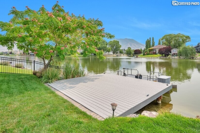 Private Dock with Pontoon Boat - Extra Charge