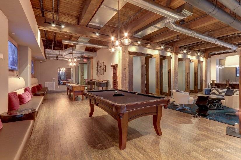 Club Room - Pool Table