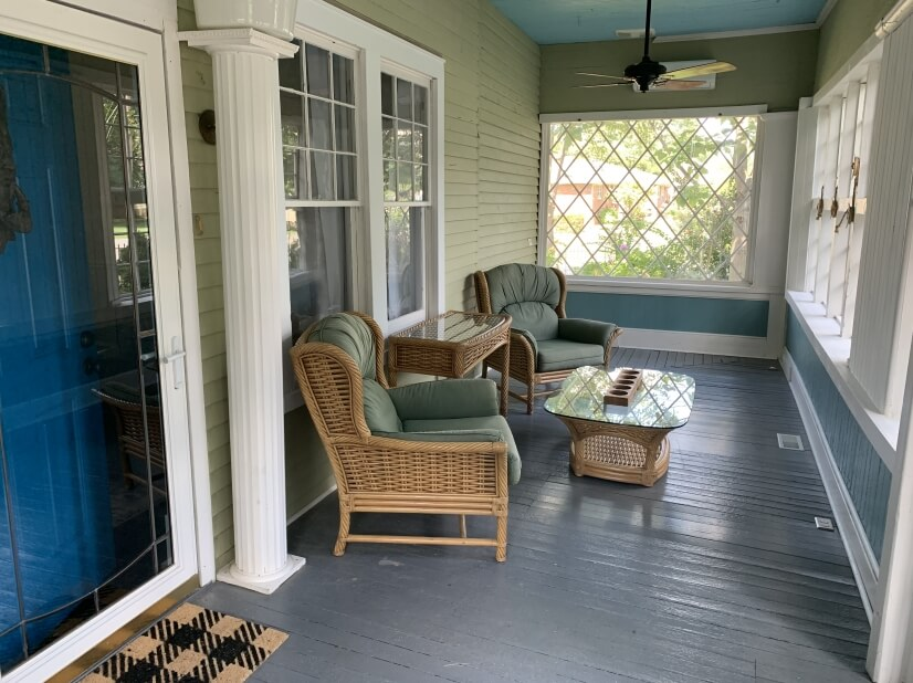 Front Porch Sun Room