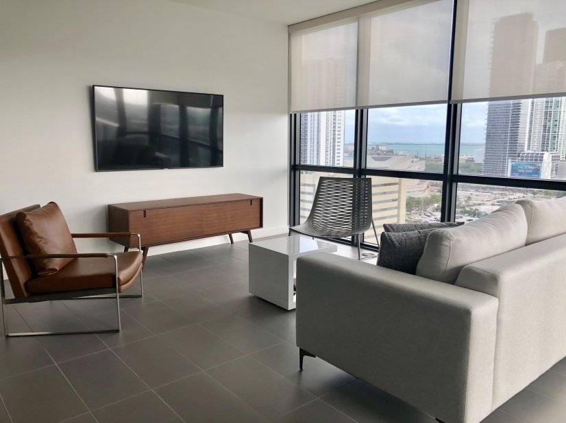 image 3 furnished 2 bedroom Townhouse for rent in Downtown, Miami Area