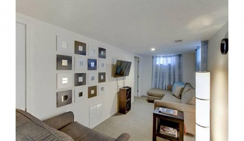 Basement apt livingroom area