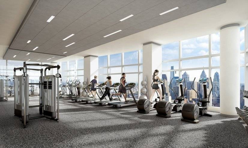 Level28 Amenity Space - Fitness Center