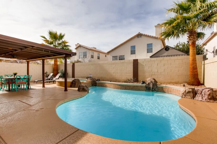 image 4 furnished 2 bedroom House for rent in Spring Valley, Las Vegas Area