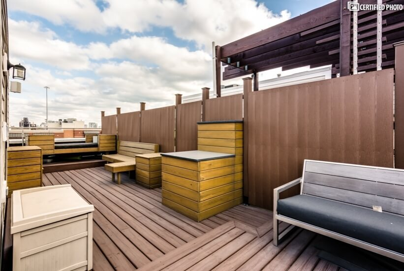 Roof Top Deck Sitting Area