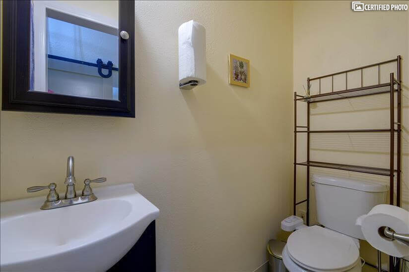 1/2 bathroom with BioBidet
