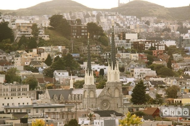 View from Master Bedroom, Noe Valley, Saint Paul's